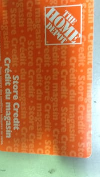 Home Depot store credit $89.99 Vancouver, V5T 3B5