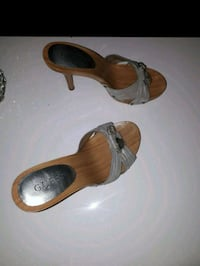 Guess slip on heel sandals