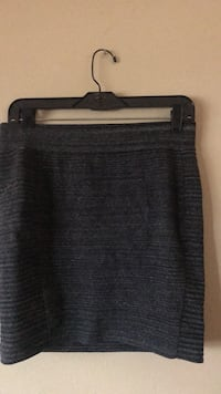 soft gray skirt by express size large Colorado Springs, 80909