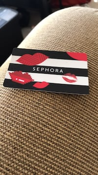 $25 Sephora gift card selling for 15  Woodbridge, 22192