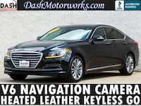 2015 Hyundai Genesis Navigation Camera Leather Black