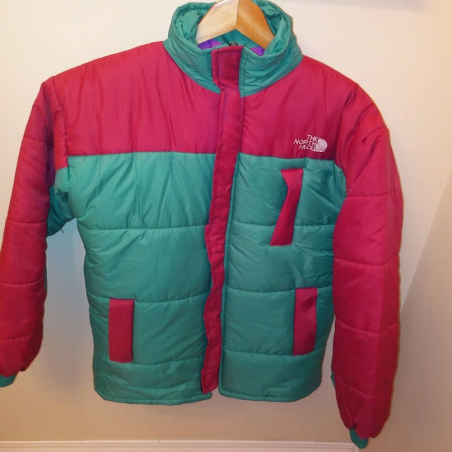 Preowned: The north face Vintage looking puffer ja