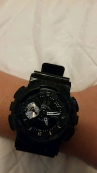 ● casio watch g shock unisex black bracelet clock