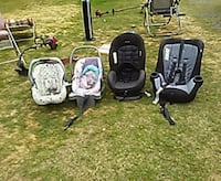 three black and gray car seats Gladewater, 75647