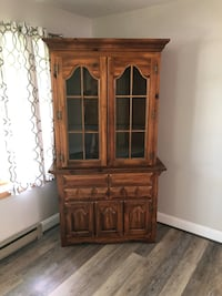 Solid wood display cabinet and drawers   Orchard Hills, 21742
