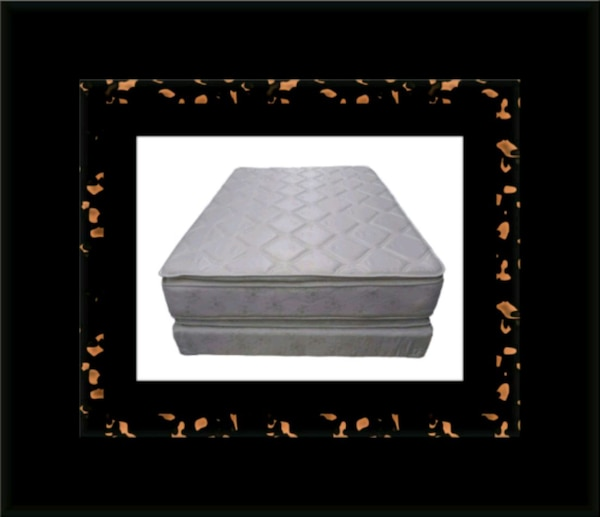 Pillowtop mattress with box all size