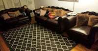 3 piece couch set MUST GO $490 OBO!! TORONTO