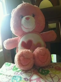 pink and white bear plush toy Stafford, 22556