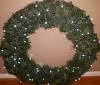 LRG LIT WREATH + 11 SM UNLIT WREATHS Gambrills, 21054