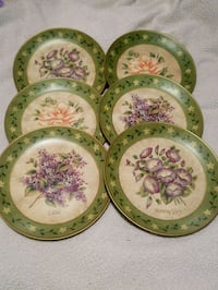 Beautiful Flower Decorative Plates Humboldt, 38343