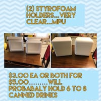 Styrofoam containers Brownwood, 76801