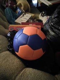 blue orange soccer ball Chesapeake, 23321