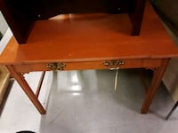 brown wooden table with drawer Jackson, 39204