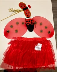 Brand New Simple Adult Lady Bug Costume