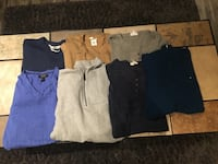 ***REDUCED - Men's Name Brand Sweaters/Top LOT For Sale - Like New! Regina, S4V 3H1