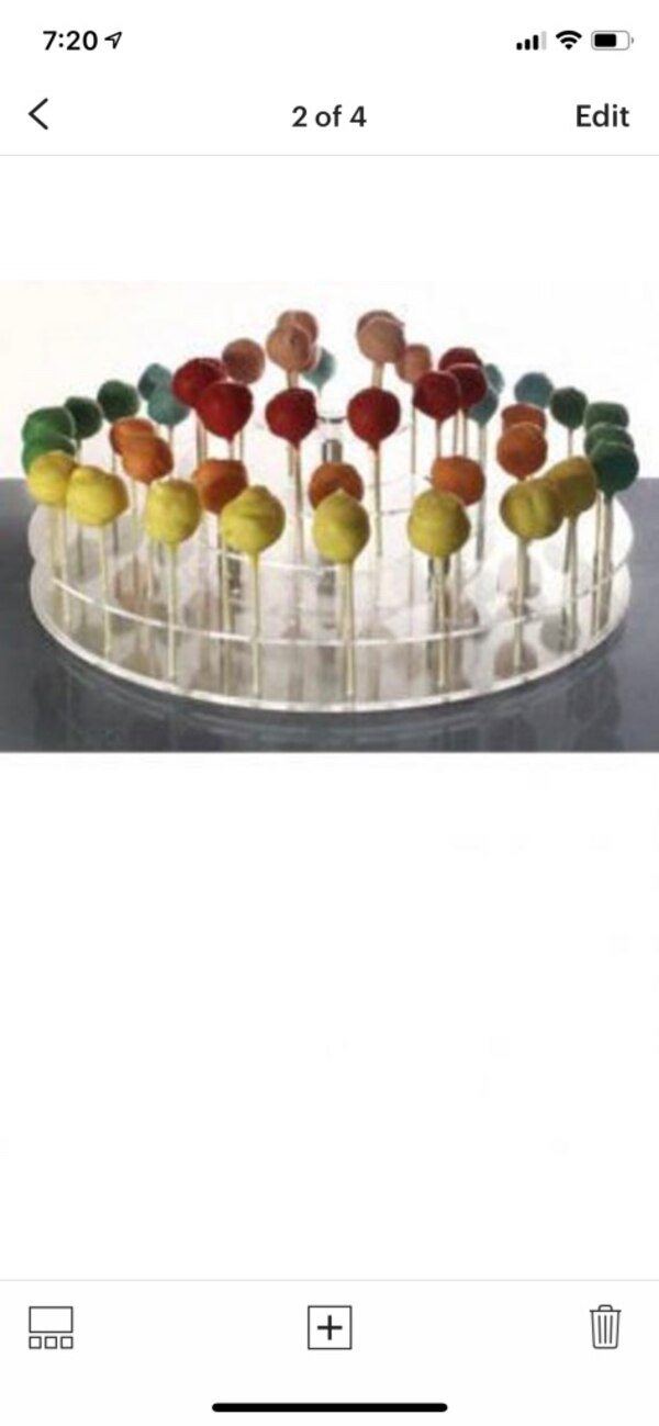 Used Cake Pop Stand Wedding Party Shower Display For Sale In Dix