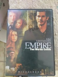 Empire Two World's Collide DVD Case Las Cruces, 88007