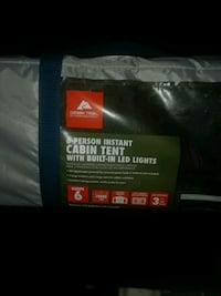 6 man tent with led lighting Topeka, 66605