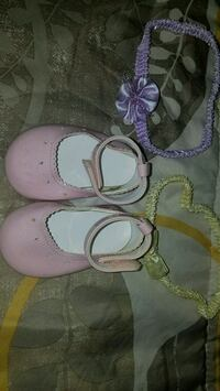 pair of pink mary jane shoes 1c Cockeysville, 21030