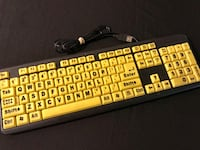 EZ Eyes Keyboard Great Condition! Model No: AKB-8861 Glendale, 85302