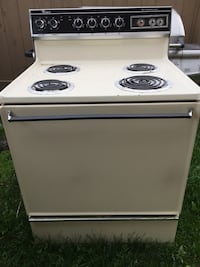 white and black electric coil range oven Anchorage, 99517