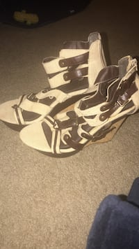 New sz 9 wedges strappy Rockville, 20852