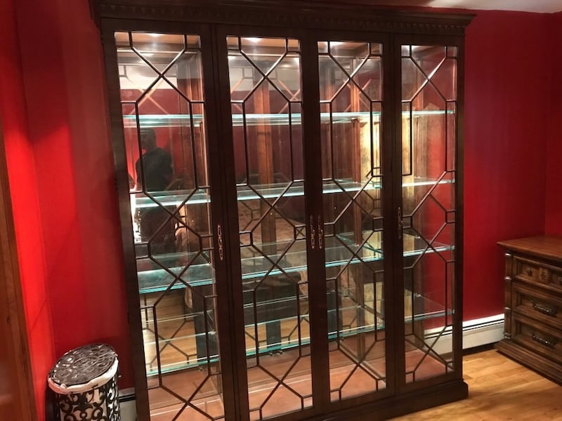 Used Henredon Curio Cabinet For In
