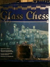 Glass Chess Set Wichita, 67203