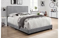 Mercer41 Templeton Upholstered Panel Bed Brampton, L6S 6L8