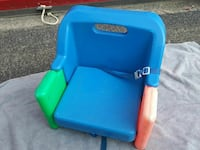 Child's foldable booster seat