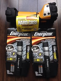 Brand New Energizer Hard Case LED Flashlight - $40 for all Richmond Hill, L3T 0B4