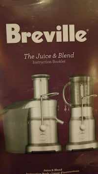 gray and black Breville juice extractor box Port Coquitlam, V3C 0B5