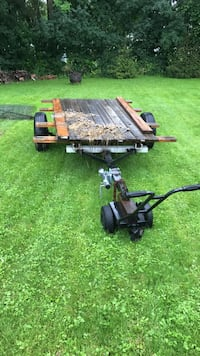 Black and brown wooden trailer, it not register, or finish , sold as is Penn Yan, 14527