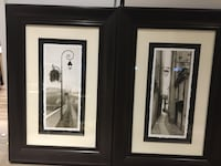 """Wall art pictures 26""""x38"""" dark brown espresso finish frame Vaughan, L4H 3P6"""