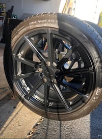 TSW Forged 18x9 Rims and Michelin Pilot Sport Tires