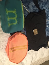 three, green, black, and orange bags Midvale, 84047