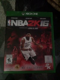 NBA 2K16 Xbox One game case Oshawa, L1G 5T5