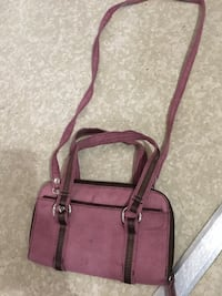 Women's pink leather bag Edmonton, T6K 3E8