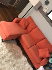 Carol fabric sofa with throw pillows NEED GONE ASAP Ashburn, 20147