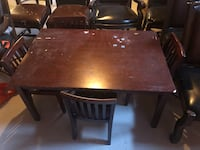 Kids table and chairs  Brampton, L6P