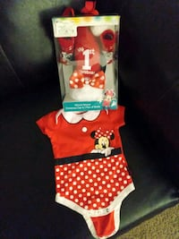 Minnie mouse girl out fit