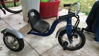 Schwin roadster tricycle blue black used