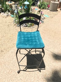 Black Iron bar stools with cushions PRICE REDUCED!!! North Chesterfield, 23832
