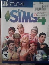 Sony PS4 The Sims 4 game case