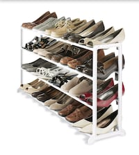 Brand new shoe rack