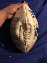 Raven's Super Bowl Autographed Football 2001