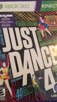 Just dance 4 xbox 360 Coquitlam, V3K 6Y8