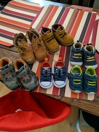 Infant and toddler shoes and vest