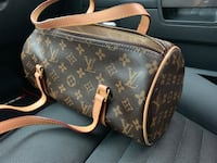 black and brown Louis Vuitton leather shoulder bag Stafford, 77477