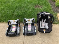Chico keyfit car seat & two bases Capitol Heights, 20743